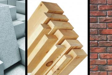 Какой материал лучше использовать при постройке дома.