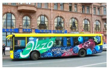 Преимущества наружной рекламы на транспорте