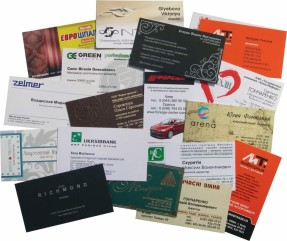 Заказ визиток в компании «СТЭМП»