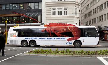 Наружная реклама на рейсовых автобусах и маршрутках